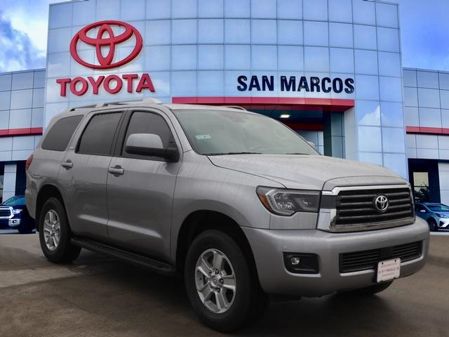 New 2019 Toyota Sequoia Sr5 Ep Package Rwd 4d Sport Utility
