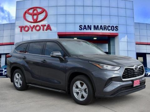 New Toyota Highlander For Sale In San Marcos Tx
